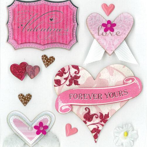 My Valentine Dimensional Sticker _30-577701