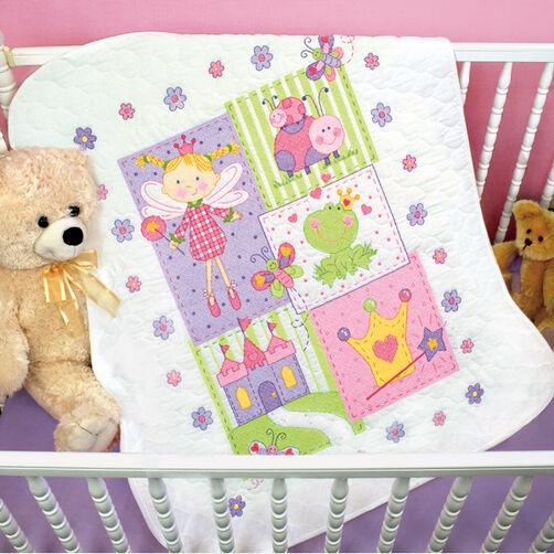 Fairy Quilt, Stamped Cross Stitch_70-73541