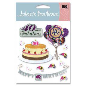 40th Birthday Stickers_SPJB196
