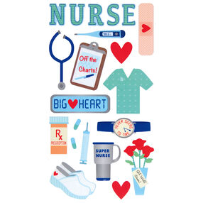 Registered Nurse Stickers_52-00059