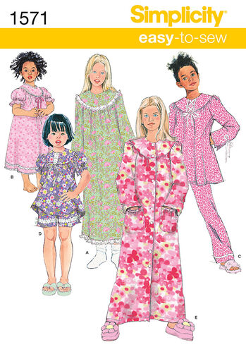 Child's and Girl's Loungewear Separates
