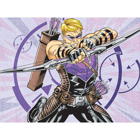 Hawkeye, Pencil by Number_73-91502