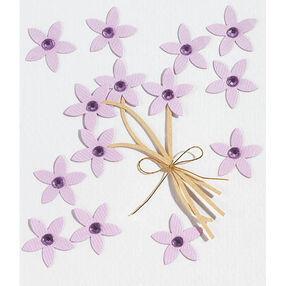 Violet Jeweled Flower Stickers_SPJC015
