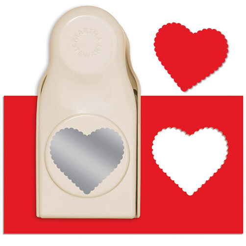 Scalloped Heart Extra Large Punch_42-39007