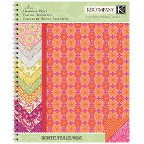 Lily Ashbury Raspberry Lemonade 8.5x11 Paper Pad_30-681552