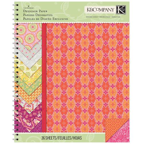 Lily Ashbury Raspberry Lemonade 8.5x11 Paper Pad_30-681552