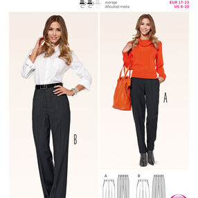 Burda Style Pattern 6889 Petite/Half Sizes