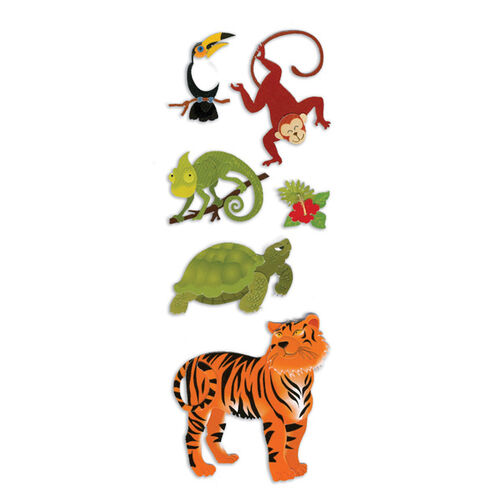 Jungle Animals Stickers_SPJJ204