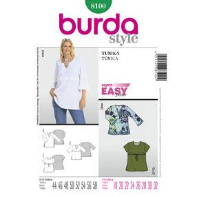 Burda Style Pattern 8100 Tunic