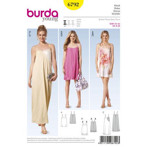 Burda Style Pattern 6792 Dresses