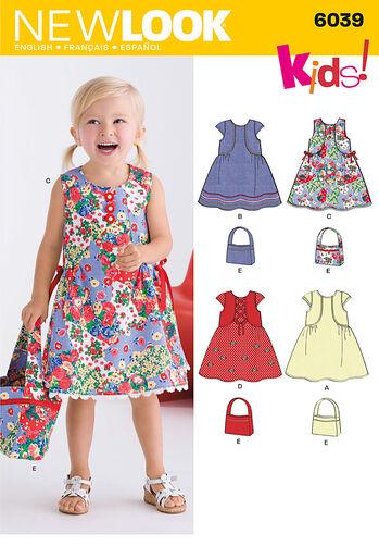 Toddler's Dress & Bag