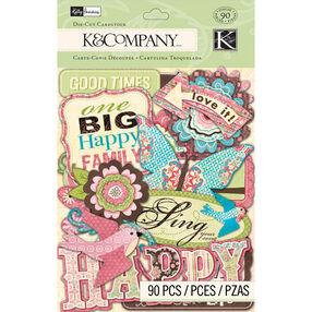Kelly Panacci Blossom Die-cut Cardstock_30-663770