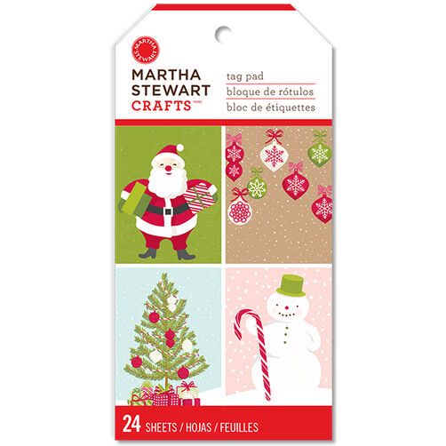Peppermint Winter Large Tag Pad_48-30236