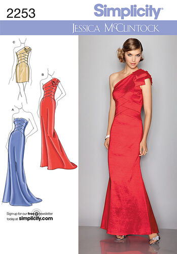 Misses' Evening Dresses