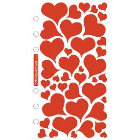 Foil Hearts Classic Stickers _SPVS12