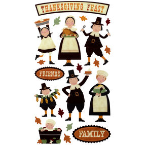 Thanksgiving Fun Stickers_52-00157