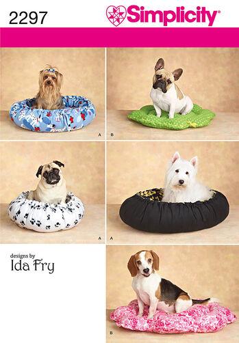 Simplicity Pattern 2297 Dog Beds