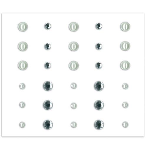 The Kiss Adhesive Rhinestones & Pearls_30-311800