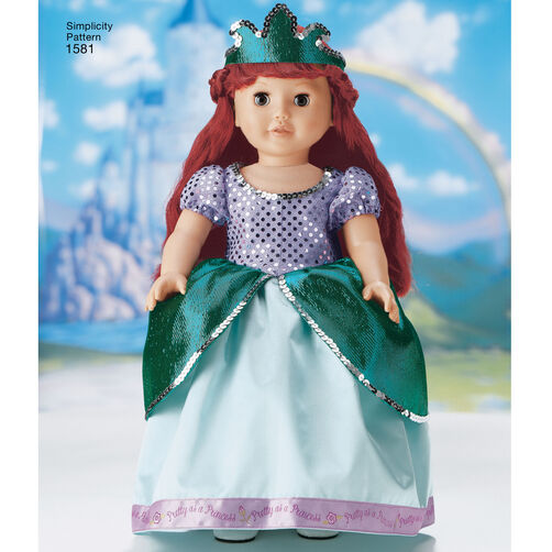 Disney Princess Doll Clothes: Pattern For Disney Princess Doll Clothes