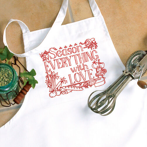 Season Apron, Stamped Cross Stitch_72-73548