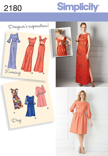 Misses' Day to Evening Dresses
