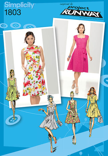 Misses' & Miss Petite Dresses Project Runway Collection