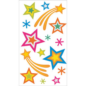 Stars Vellum Stickers_50-50210