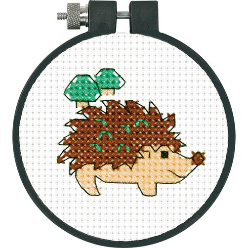 Hedgehog in Counted Cross Stitch_72-73986