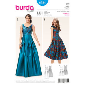 Burda Style Pattern 6584 Dress