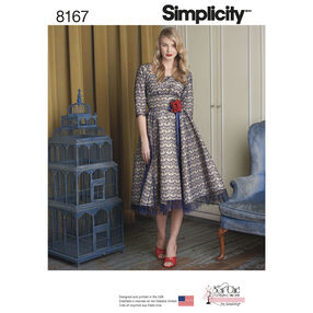 Pattern 8167 Misses' Sew Chic Dress