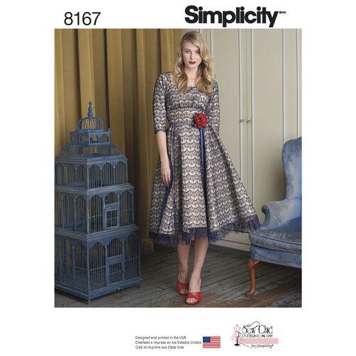 Pattern 8167 Misses' Sew Chic Dress