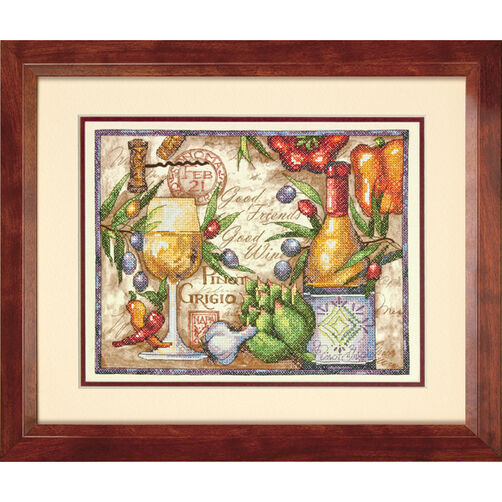 Pinot Grigio Stamped Cross Stitch_70-03247