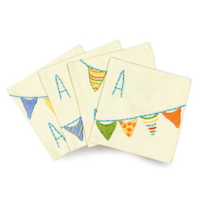 Party Flags, Embroidery_72-74895