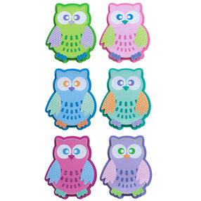 Patterned Owl Stickers_52-31037