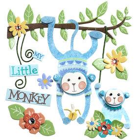 Baby Boy My Little Monkey Stickers_50-21613