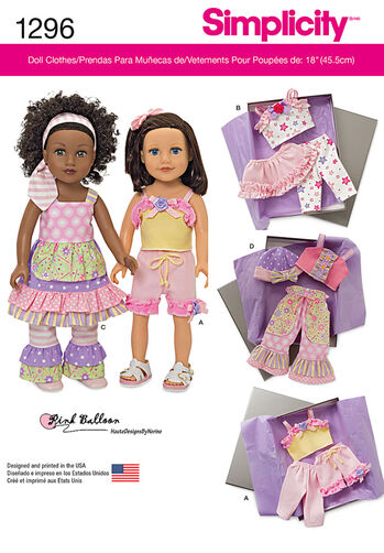 """Clothes for 18"""" Doll"""