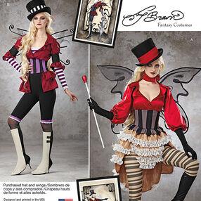 Misses' Victorian Circus Costumes