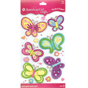 Butterflies Stacked Stickers_30-231580