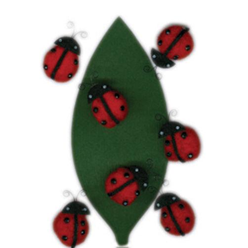 Ladybug Pom Pom Stickers_M860377