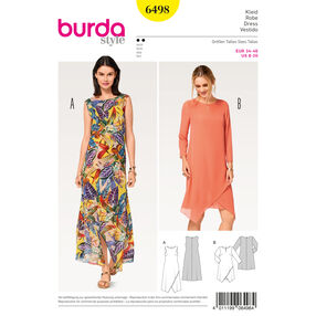 Burda Style Pattern B6498 Misses' Two Layered Dress