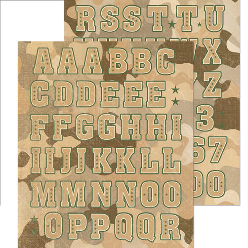 Alphabet Sticker_30-588042
