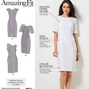 Misses' and Miss Plus Amazing Fit Dress