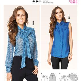 Burda Style Tops, Shirts,Blouses