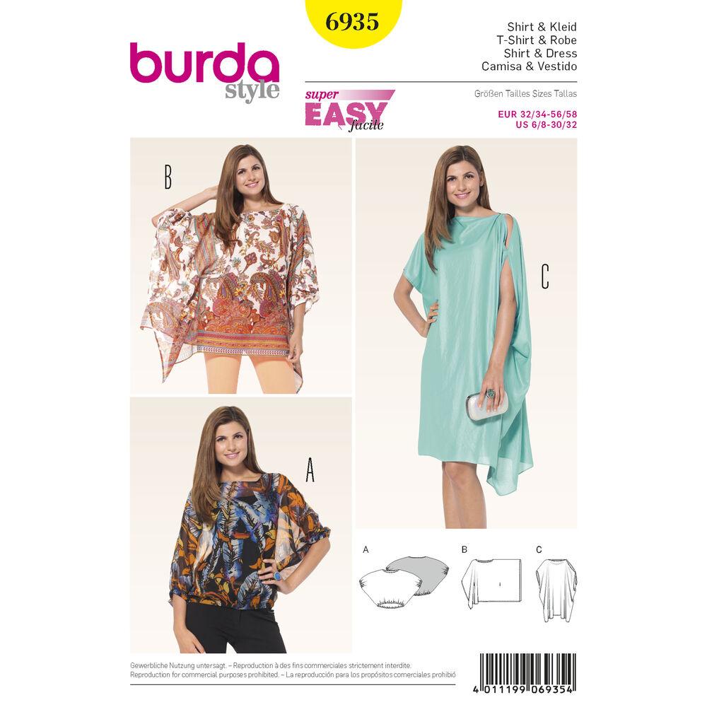 Pattern For Burda Style Dresses Simplicity