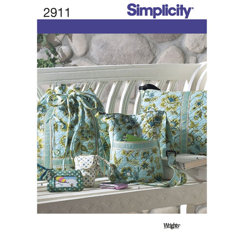Simplicity Pattern 2911 Bags & Accessories