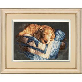 Snooze, Stamped Cross Stitch_03220