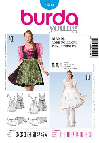 Burda Style Folklore Dress