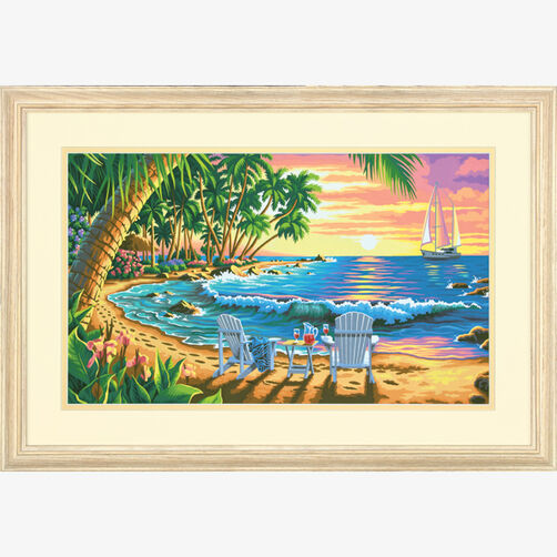 Sunset Beach, Paint by Number_73-91444