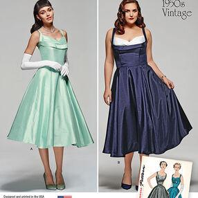 Miss and Miss Plus Vintage Dress