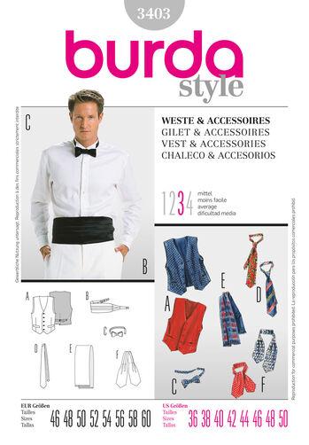 Burda Style, Vest & Accessories